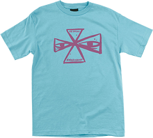Independent - Barbee Cross Ss M-pacific Blue - T-Shirt
