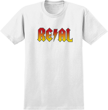 Real - Deeds Highway To Hell Ss M-white/red Yel Fade - T-Shirt