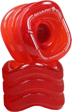 Shark Wheels - Sidewinder 70mm 78a Trans.red - Skateboard Wheels (Set of Four)