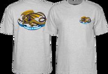 Powell Peralta - Oval Dragon Yth Ss M-grey - Youth Tshirt