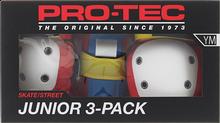 Pro Tec - Junior 3 Pack Box Ym-retro Knee/elbow/wrist - Skateboard Pads