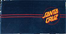 Santa Cruz - Classic Dot Towel Navy