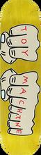 Toy Machine - Fists Deck-7.75 Yellow Stain - Skateboard Deck
