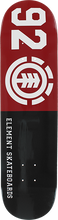 Element - 92 Classic Deck-7.7 Blk/red/wht - Skateboard Deck
