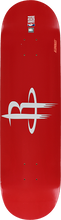Aluminati - Woody Deck-8.25 Houston Rockets - Skateboard Deck