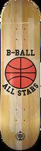 Stereo - B-ball All Stars Hardwood Deck-8.0 - Skateboard Deck