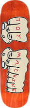 Toy Machine - Fists Deck-8.25 Orange Stain - Skateboard Deck