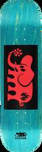 Black Label - Elephant Block Deck 8.25 Blu Stain/blk/red - Skateboard Deck