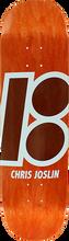 Plan B - B Joslin Stained Deck-8.25 Orange - Skateboard Deck