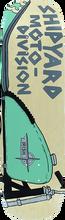 Shipyard Skates - Irish Moto Division Deck-8.75x32.5 - Skateboard Deck