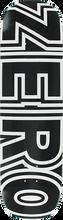 Zero - Bold Deck-8.75 Black/wht - Skateboard Deck