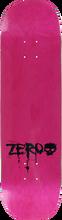 Zero - Blood Mini Logo Deck-8.5 Pink - Skateboard Deck