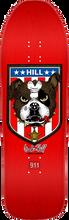 Powell Peralta - Hill Bulldog Deck-10x31.5 Red - Skateboard Deck