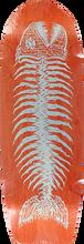 Alva - Pescado Grande Deck-12x37 Orange/silver - Skateboard Deck