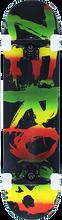 Zero - Rasta Blood Complete-7.62 Blk/rasta - Complete Skateboard