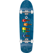 Enjoi - Beer Run Cruiser Complete-8.5x31 Blue Stain - Complete Skateboard