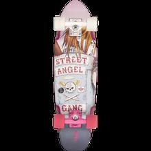 Duster - Bird Street Angel Complete-7.5x27 Wht/pink - Complete Skateboard