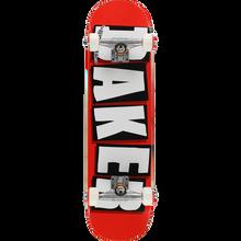 Baker - Brand Logo Complete-8.0 Red/wht/blk - Complete Skateboard