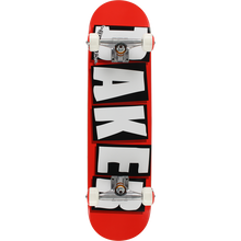 Baker - Brand Logo Complete-7.75 Red/wht/blk - Complete Skateboard