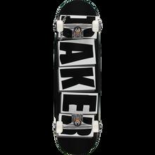 Baker - Brand Logo Complete-8.25 Blk/wht - Complete Skateboard