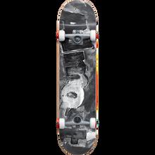 ALMOST - Color Bleed Complete-8.0 Blk/wht - Complete Skateboard