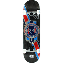 Alien Workshop - Crest Foil Complete-7.87 Black Stain - Complete Skateboard