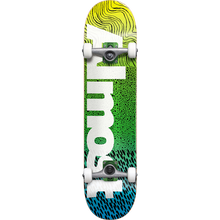 ALMOST - Ct Logo Complete-7.0 Yel/grn/blu Fade - Complete Skateboard