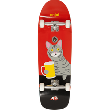Enjoi - Drinking Buddy Complete-9.62x31 Red - Complete Skateboard