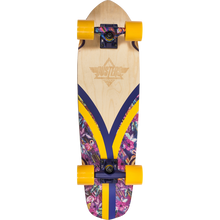 Duster - Flashback Trippycal Comp-7.9x28 Nat/pur/yl - Complete Skateboard