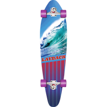 LAYBACK LONGBOARDS - Going Left Complete-9.75x38 - Complete Skateboard