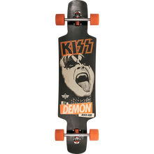 Duster - Kiss Lb Complete-9.5x38.5 Blk/org - Complete Skateboard