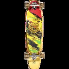 Duster - Kodiak Funboard Complete-8.7x36 Rasta/gold - Complete Skateboard