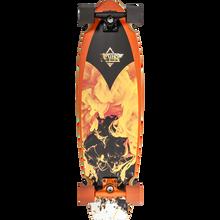 Duster - Kosher Retro Complete-9.5x33 Blk/org - Complete Skateboard