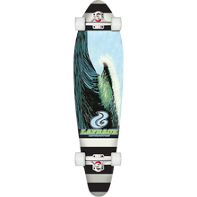 LAYBACK LONGBOARDS - New Wave Complete-9.75x38 - Complete Skateboard