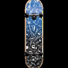Darkstar - Player Complete-7.75 Blue Ppp - Complete Skateboard