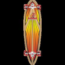LAYBACK LONGBOARDS - Soulride Complete-9.75x40 Red - Complete Skateboard