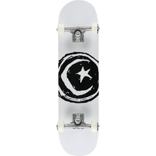 Foundation - Star & Moon Complete-7.75 White - Complete Skateboard
