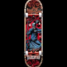 Darkstar - Stardust Complete-7.62 Red - Complete Skateboard