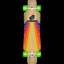 LAYBACK LONGBOARDS - Sunstripe Dt Complete-9.75x40 Bamboo - Complete Skateboard