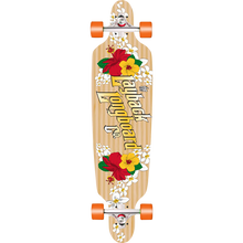 LAYBACK LONGBOARDS - Wahini Bamboo Dt Complete-9.5x41 - Complete Skateboard