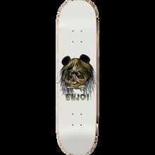 Enjoi - 80's Head Deck-8.37 Wht Metallic R7 - Skateboard Deck