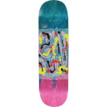 Habitat - Janoski Abstract Fade Deck-8.3 Magenta/blu - Skateboard Deck