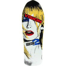 Vision - Aggressor Ii Deck-10.25x30.5 Yel/wht - Skateboard Deck
