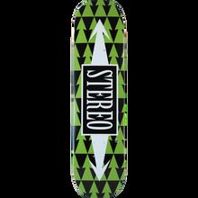 Stereo - Arrow Patterns Deck-8.0 Grn Ppp - Skateboard Deck
