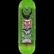Blood Wizard - Wizard Battle Deck-8.75 Green Stain - Skateboard Deck
