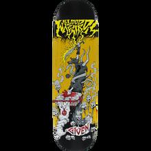 Blood Wizard - Wizard Given Battle Deck-8.25 Yellow Stain - Skateboard Deck