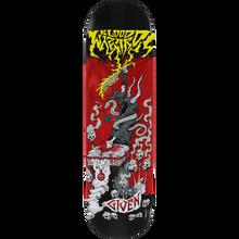 Blood Wizard - Wizard Given Battle Deck-8.5 Red Stain - Skateboard Deck