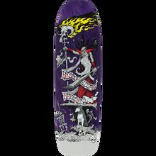 Blood Wizard - Wizard Gregson Battle Dk-8.8x32.12 Pur Stain - Skateboard Deck