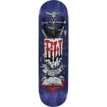 Blood Wizard - Wizard Battle Deck-8.37 Navy Stain - Skateboard Deck