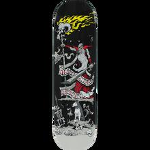 Blood Wizard - Wizard Gregson Battle Deck-8.5 Black Stain - Skateboard Deck
